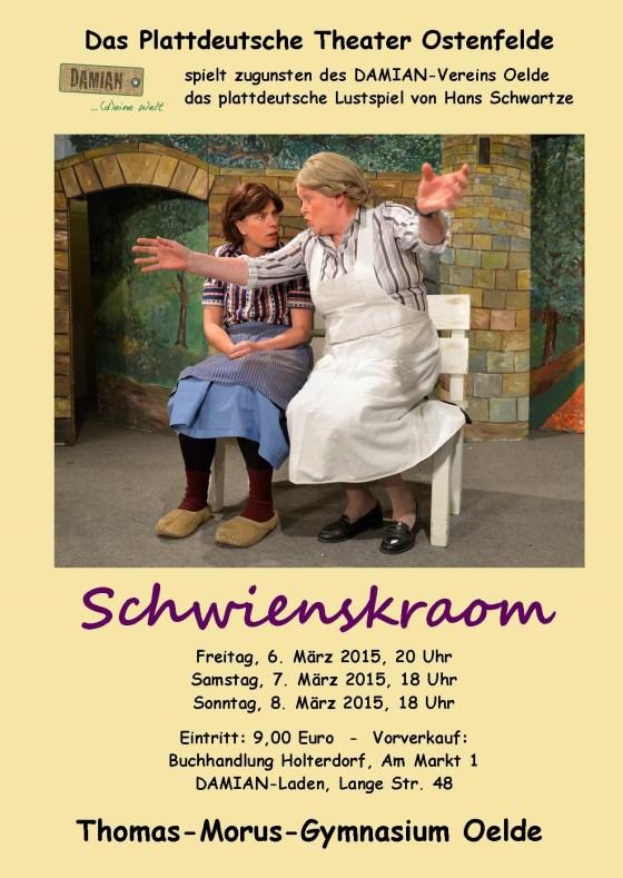 Plattdeutsches Theater Vorverkauf Damian