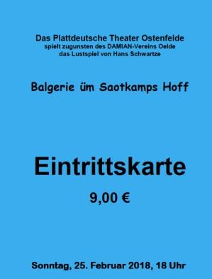 Plattdeutsches Theater Damian Oelde